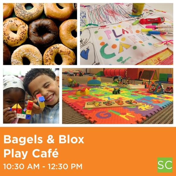 Bagels & Blox at Spence-Chapin Services to Children & Families