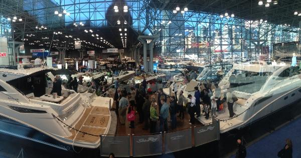 New York Boat Show at Jacob Javits Center