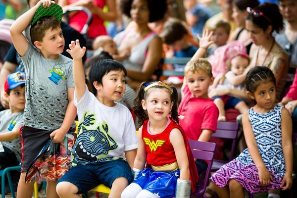 Reading Room Kids at Bryant Park