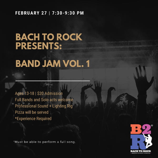 Bach to Rock Band Jam Vol. 1 at Bach to Rock Nanuet