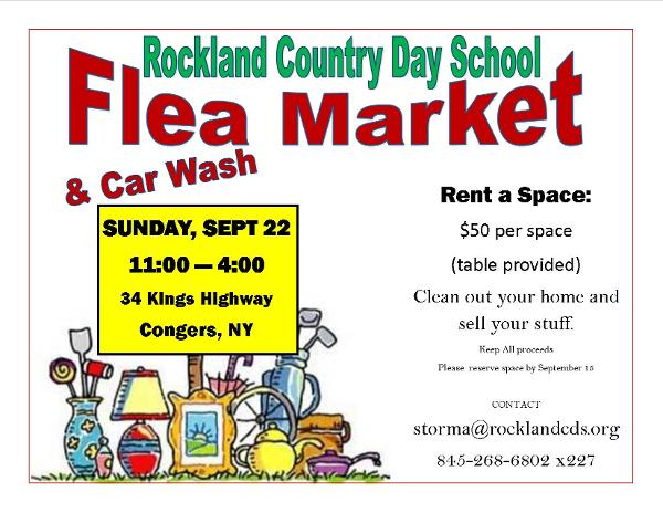 RCDS Flea Market at Rockland Country Day School