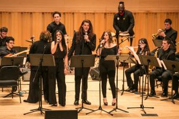 Adelphi Jazz Ensemble at Adelphi University Performing Arts Center