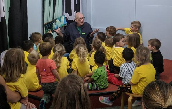 Storytime with Ed at Mid-Hudson Children's Museum