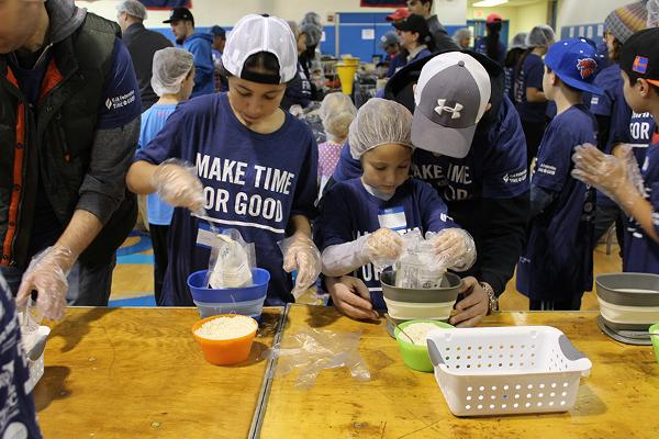MLK Day of Service at Sid Jacobson JCC