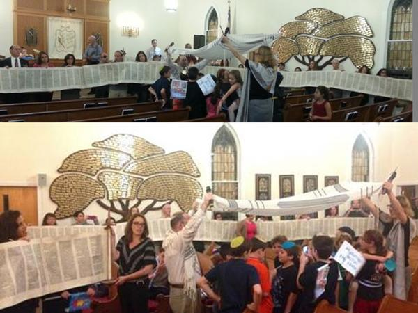 Simchat Torah Celebration at Temple Beth Am