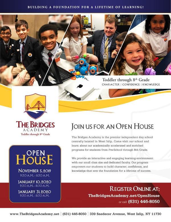 The Bridges Academy Open House at The Bridges Academy