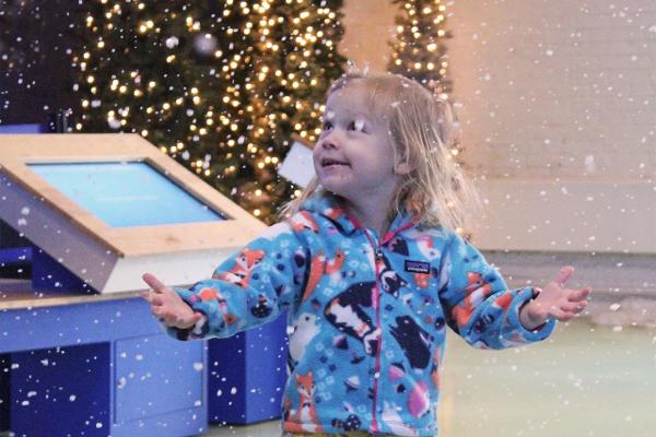 Flurry Zone! An Indoor Snow Experience at THE MARITIME AQUARIUM AT NORWALK