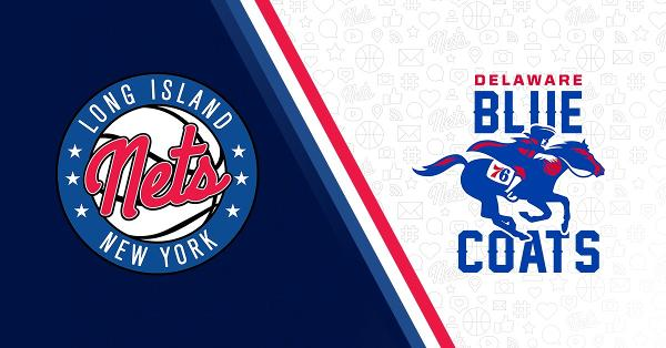 Long Island Nets vs. Delaware Blue Coats at NYCB LIVE