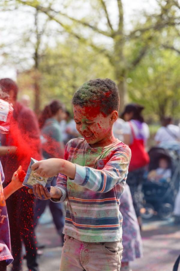 Celebrate Holi at Brooklyn Children's Museum