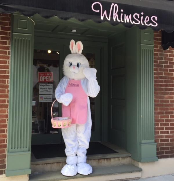 8th Annual Miniature Egg Hunt at Whimsies Dollhouse Shop