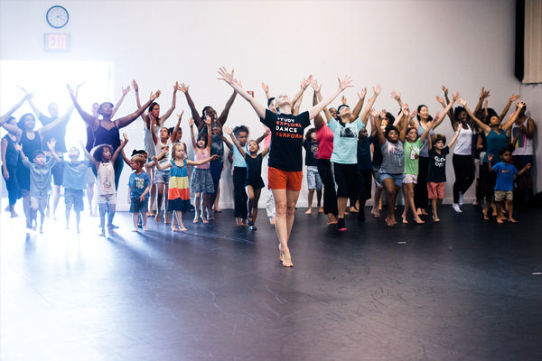Family Class with Mark Morris Dance Group at Mark Morris Dance Center