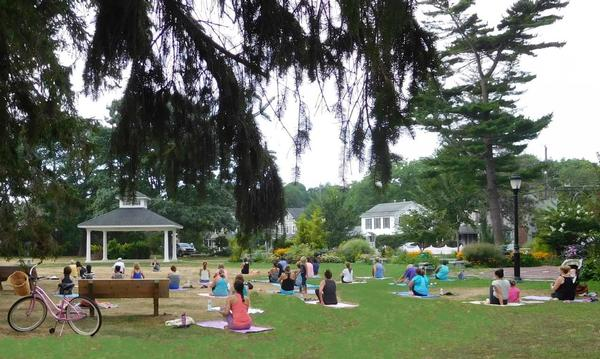 Yoga in the Parkby Om Shanti Yoga and Reiki Center at The Common Ground
