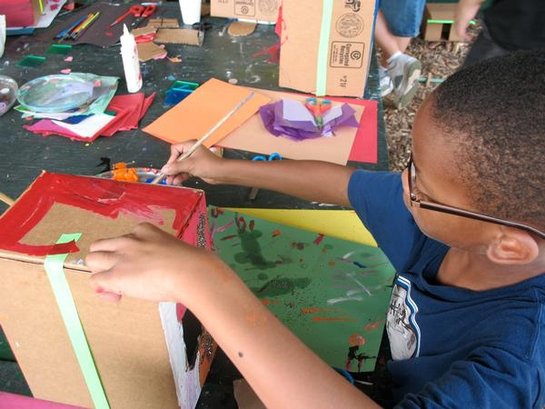 Saturday Sculpture Workshops: Meadow Mazes with Free Style Arts Association at Socrates Sculpture Park