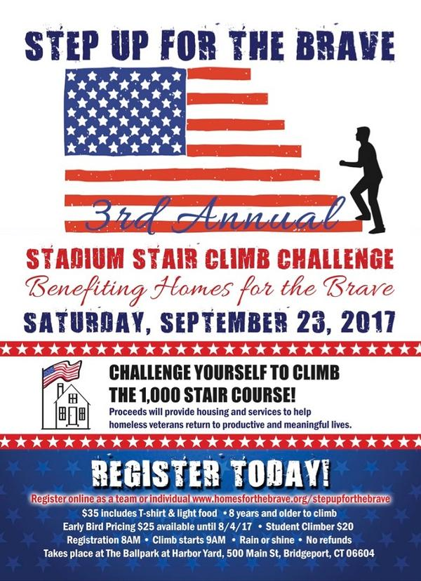 3rd Annual Step Up For The Brave Stadium Stair Climb Challenge at Ballpark at Harbor Yard