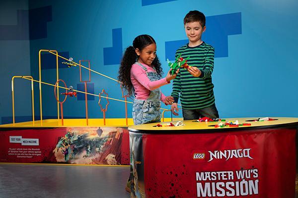 LEGO NINJAGO Days at LEGOLAND Discovery Center Westchester