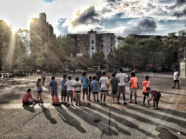 Street Soccer Program at William F. Passannante Ballfield