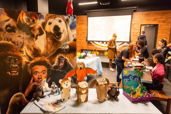 In-Store Doctor Dolittle Activities at CAMP at City Point
