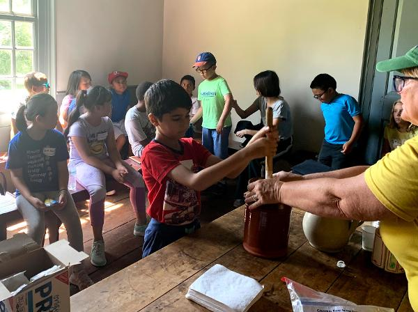 Junior Makers Staycation: Foraging, Fibers & Food at Queens County Farm Museum