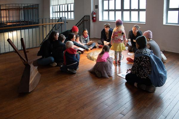 Art for Families | Gallery Walk: Find Your Friends at Noguchi Museum