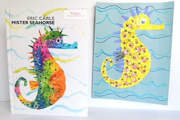 stART (Story + Art): 'Mister Seahorse' at Long Island Children's Museum