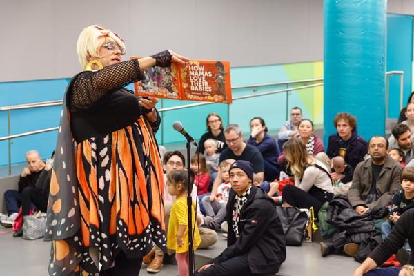 Drag Queen Story Hour at Brooklyn Children's Museum