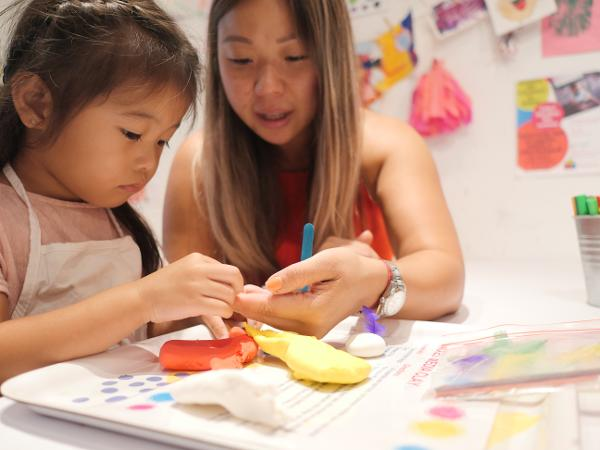 Toddler Art Adventures at Private Picassos