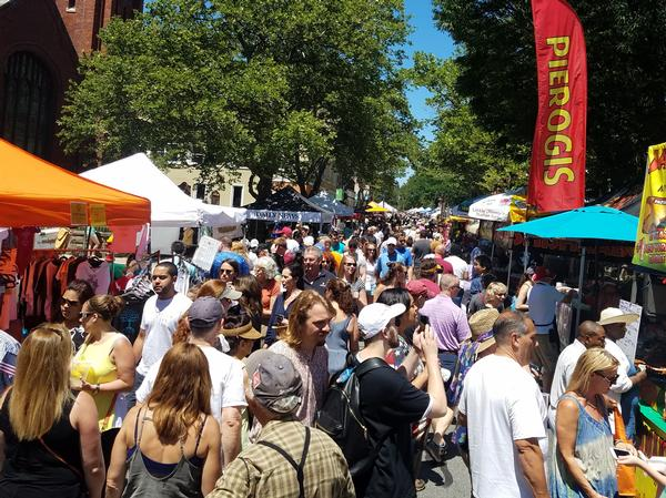 Nyack's Famous Street Fair at Downtown Nyack