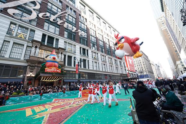 91st Annual Macy's Thanksgiving Day Parade at Parade begins at Central Park West and 77th Street