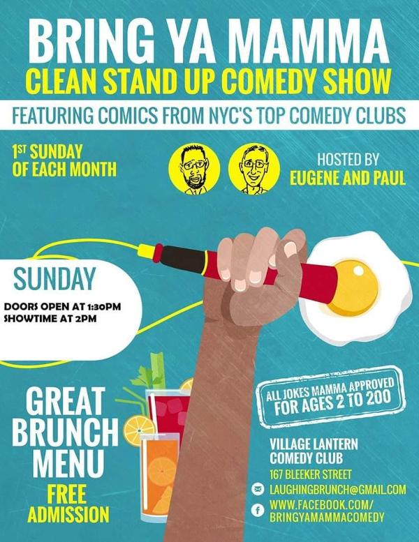 Bring Ya Mamma Stand up Comedy Show at The Village Lantern Comedy Club