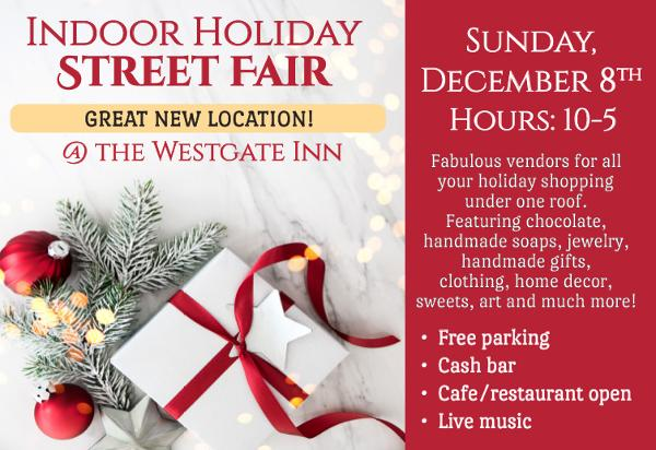 Nyack's Holiday Gift Fair at West Gate Inn