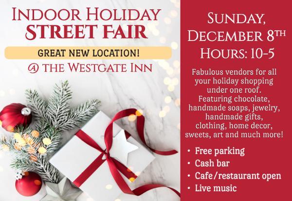 Nyack's Holiday Gift Fair at West Gate Inn