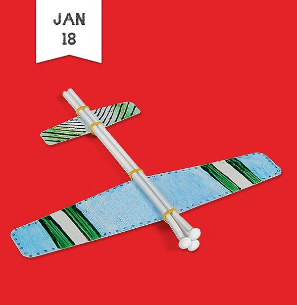 Free Crafts for Kids: Fast-Flying Glider at Lakeshore Learning Store