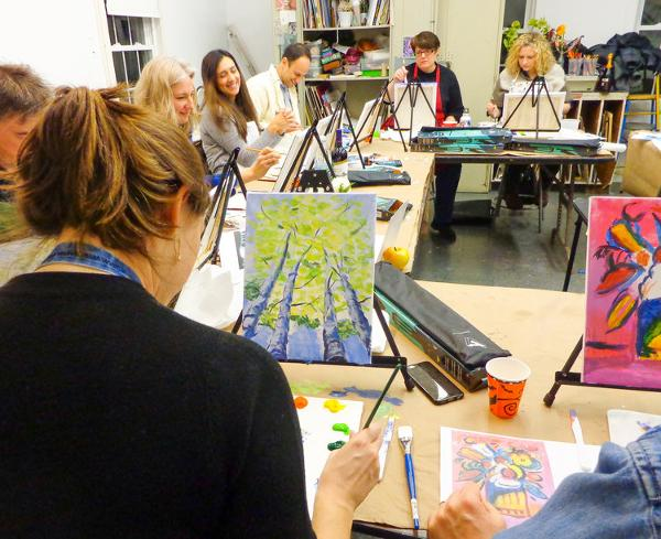 Thursday Night Out: Still-Life Paintings: A BYOB Night Out! at The Rye Arts Center