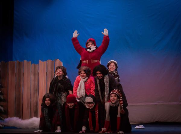 A Christmas Story, the Musical at CM Performing Arts Center
