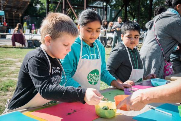 Queens Food Day at Socrates Sculpture Park