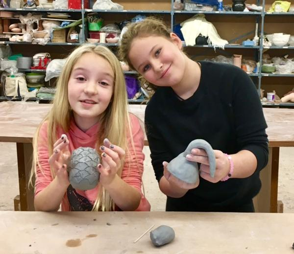Clay Art Center's Saturday Drop-In Clay Classes for the Whole Family at Clay Art Center