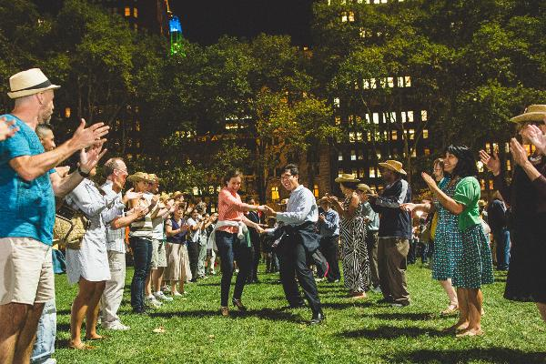 Square Dance at Bryant Park