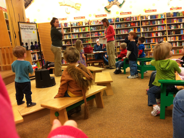 Story Time with the Stroller Striders at Barnes and Noble - Smith Haven Mall