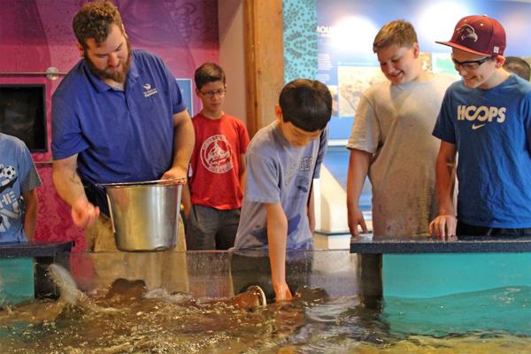Feeding Time: A Behind the Scenes Program at THE MARITIME AQUARIUM AT NORWALK