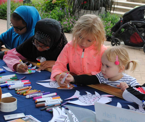 DRAW OUT! Free Community Arts Festival at Heckscher Museum of Art