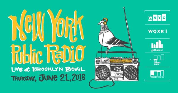 New York Public Radio LIVE at Brooklyn Bowl