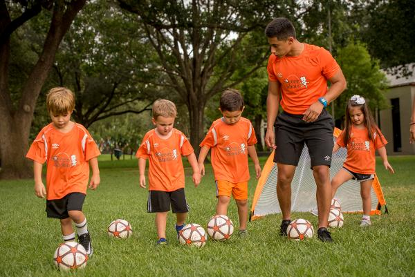 Free Clinic - Soccer class for 3 and 4 year olds at Eisenhower Park