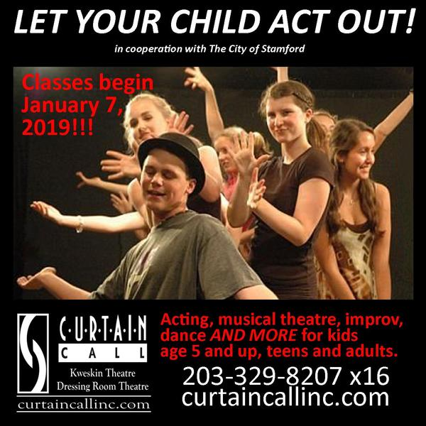 Curtain Call's Winter 2019 Theatre Arts Classes at Curtain Call, Inc.