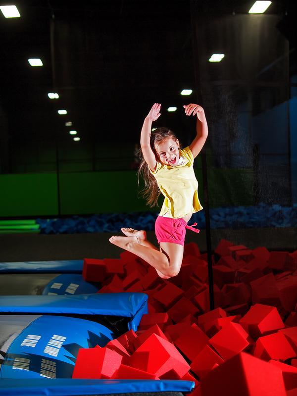 Sensory Bounce at Bounce! Trampoline Sports