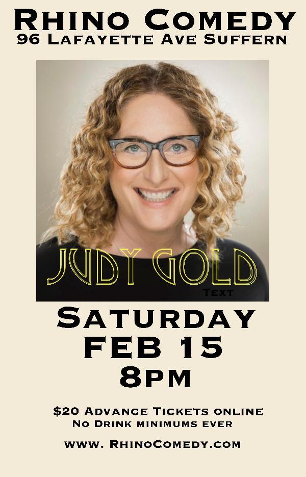 Judy Gold at Rhino Comedy
