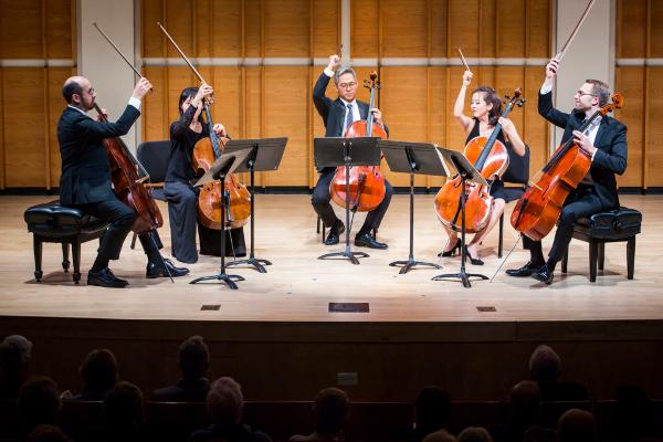 Musicians from The New York Philharmonic at Guild Hall of East Hampton
