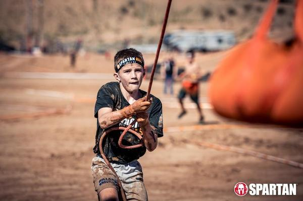West Point Spartan Kids Race at Anthony Wayne Recreational Area