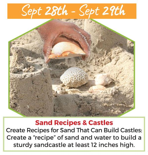 Sand Recipes & Castles at Long Island Explorium
