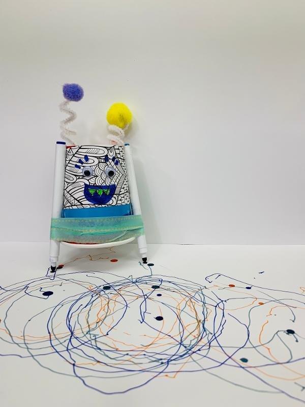 Art Engineers Make: Drawbots at Patchogue-Medford Library