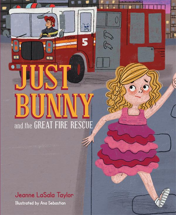'Just Bunny and the Great Fire Rescue' by Jeanne La Salle Taylor Author Event at Andersons Larchmont